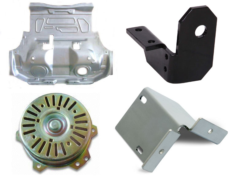Oem Custom Stamping Parts Industrial Metal Parts Sheet